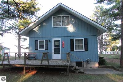 East Tawas Single Family Home For Sale: 1986 Ausable Point Road