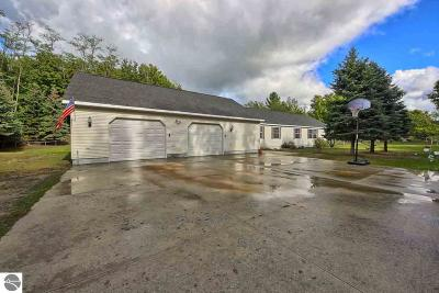 Leelanau County Single Family Home For Sale: 11861 S Benzonia Trail