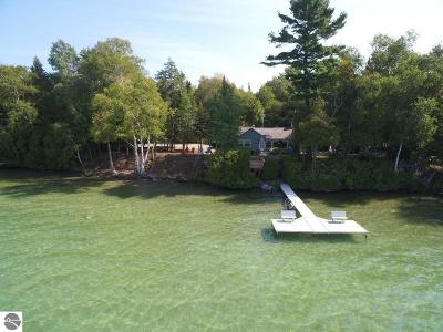 Leelanau County Single Family Home For Sale: 3249 N Lake Leelanau Drive