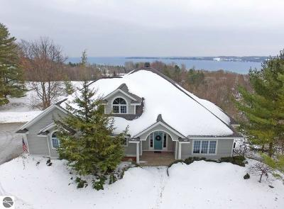 Suttons Bay Single Family Home For Sale: 424 N School Hill Court
