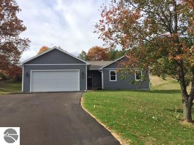 Grand Traverse County Single Family Home Price Change: 3059 Five Mile Road