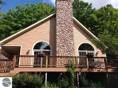 Antrim County Single Family Home For Sale: 6810 E Hansel Strause