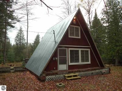 Oscoda Single Family Home For Sale: 6491 Bhirdo Drive