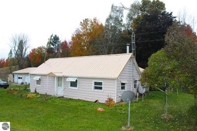 Suttons Bay Single Family Home For Sale: 4041 N Jacobson Road