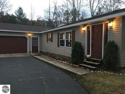 Traverse City MI Single Family Home Active U/C Taking Backups: $169,900