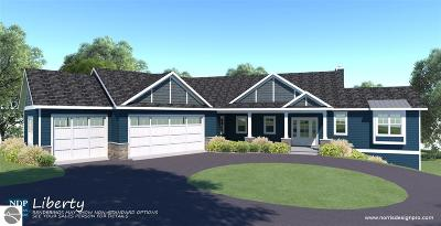 Leelanau County Single Family Home For Sale: Tbb W Timber Wolf Court