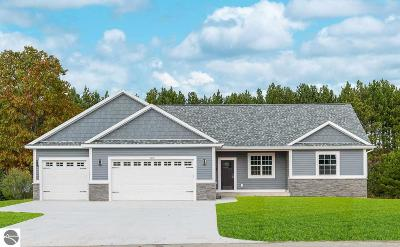 Grand Traverse County Single Family Home For Sale: Tbb High Lake Road