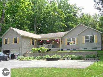 Benzie County Single Family Home For Sale: 19303 Pleasant View Road