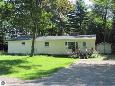 Oscoda Single Family Home For Sale: 6654 Woodlea Road