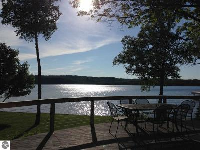 Leelanau County Single Family Home For Sale: 5568 S Lime Lake Road