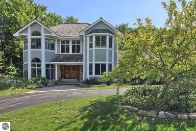 Leelanau County Single Family Home For Sale: 10110 E San Remo Boulevard