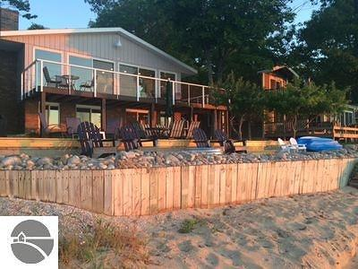 Leelanau County Single Family Home New: 13190 N Forest Beach Shores