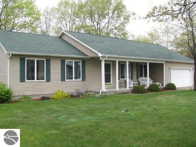 Oscoda Single Family Home For Sale: 4032 Ralph Scott Drive