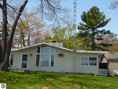 East Tawas Single Family Home For Sale: 1036 Ottawas Lane