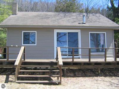 Single Family Home For Sale: 6070 S Lake Leelanau Drive