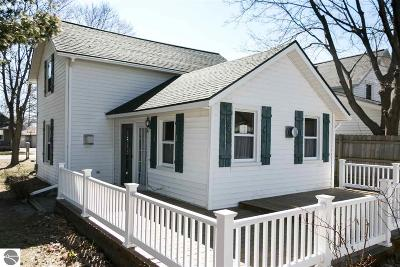 Elk Rapids MI Single Family Home Price Change: $169,900