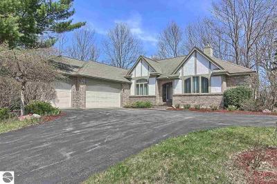 Traverse City Single Family Home For Sale: 10021 E San Remo Boulevard