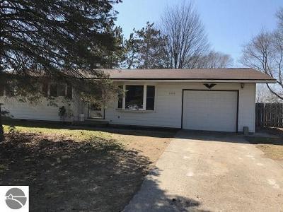 Oscoda Single Family Home For Sale: 5235 Hughes Street