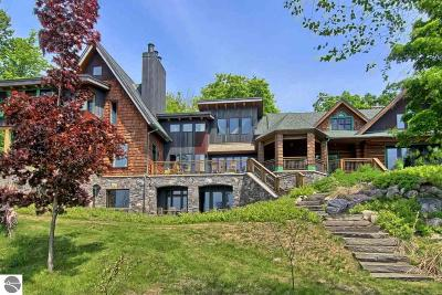 Single Family Home For Sale: 222 S East Torch Lake Drive