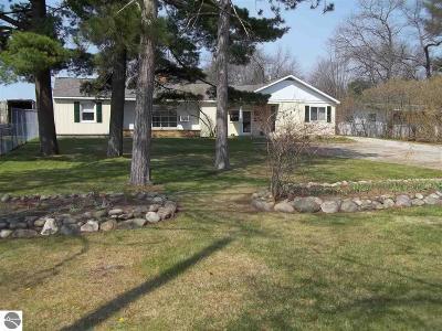 Oscoda Single Family Home For Sale: 5465 N Us-23