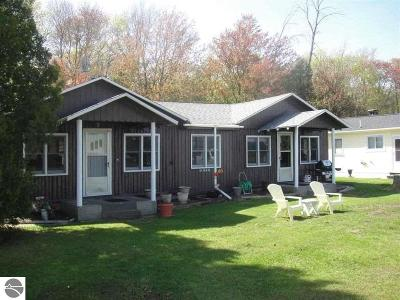 Oscoda Single Family Home For Sale: 6849 N Us-23