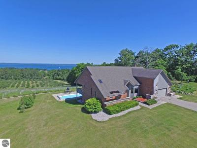 Traverse City Single Family Home For Sale: 15526 Center Road