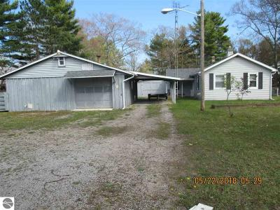 East Tawas MI Single Family Home For Sale: $56,000