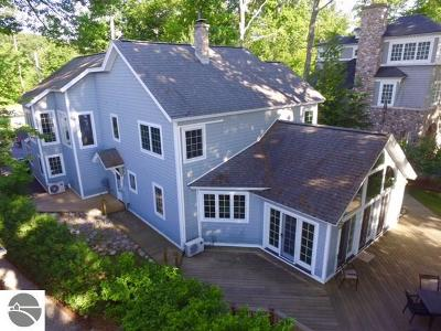 Leelanau County Single Family Home For Sale: 6710 S Dunns Farm Road