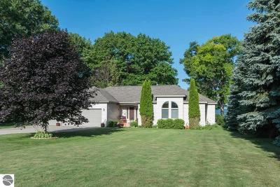 Leelanau County Single Family Home For Sale: 3802 S Bay Bluffs Drive