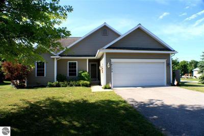 Leelanau County Single Family Home For Sale: 10135 W Salisbury