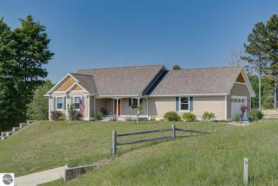 Leelanau County Single Family Home For Sale: 9400 W Sleepy Valley Drive