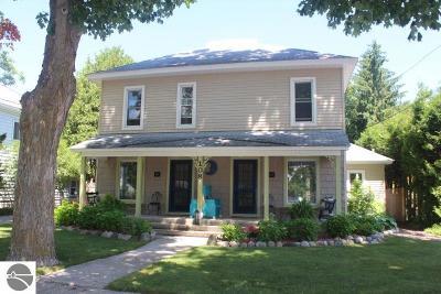Leelanau County Multi Family Home For Sale: 108 W Sixth Street