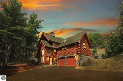 Leelanau County Single Family Home For Sale: 4592 S Bay Valley Drive