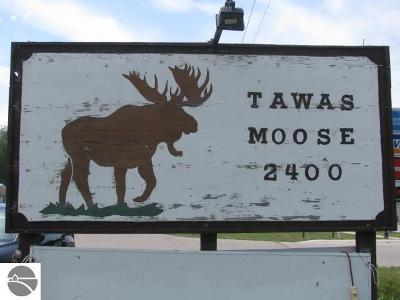 Tawas City Commercial For Sale: 1123 Us-23 S