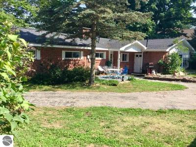 Kewadin MI Single Family Home For Sale: $595,000
