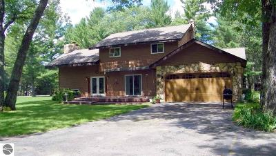 Oscoda Single Family Home For Sale: 7050 Loud Drive