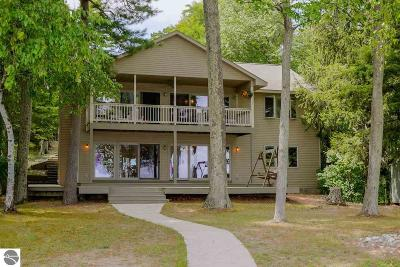 Leelanau County Single Family Home For Sale: 6907 S Glen Lake Road