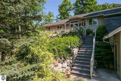 Traverse City Single Family Home For Sale: 6809 E Lake Bluffs Drive