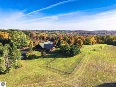 Leelanau County Single Family Home For Sale: 8810 E Otto Road