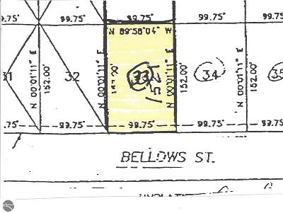 Mt Pleasant Residential Lots & Land For Sale: 1521 E Bellows