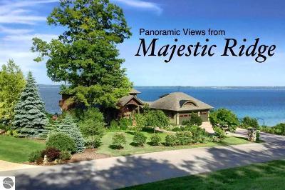 Leelanau County Single Family Home For Sale: 9295 S Majestic Ridge Drive