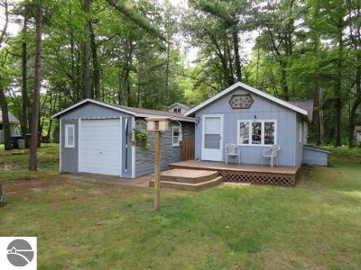 Oscoda Single Family Home For Sale: 2631 N Us-23