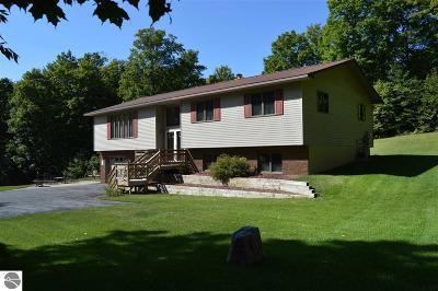 Leelanau County Single Family Home For Sale: 3419 E Traverse Highway