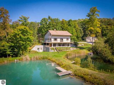 Leelanau County Single Family Home For Sale: 1399 S Lake Leelanau Drive