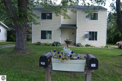 Elk Rapids MI Multi Family Home For Sale: $199,900