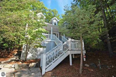 Leelanau County Single Family Home For Sale: 22 Loggers Run Subdivision