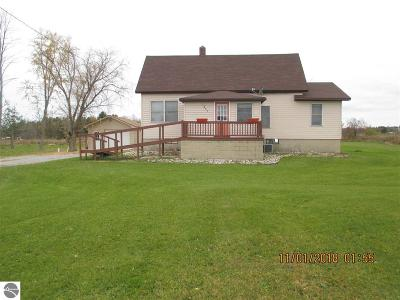 East Tawas Single Family Home For Sale: 1357 Wilber Road