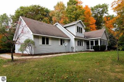 Traverse City Single Family Home For Sale: 1395 Long Lake Road, W