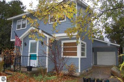 Leelanau County Single Family Home For Sale: 210 W Second Street