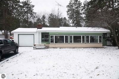 Single Family Home For Sale: 6325 W Higgins Lake Drive
